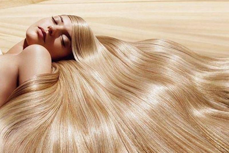 Добиться блеска волос домашних условиях 6
