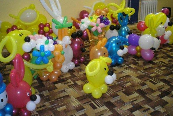 Как сделать фигуры из шаров?